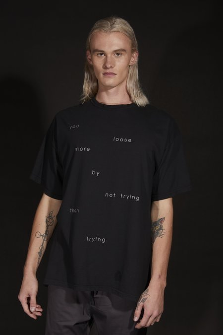 The Celect Speed Word T-Shirt - black