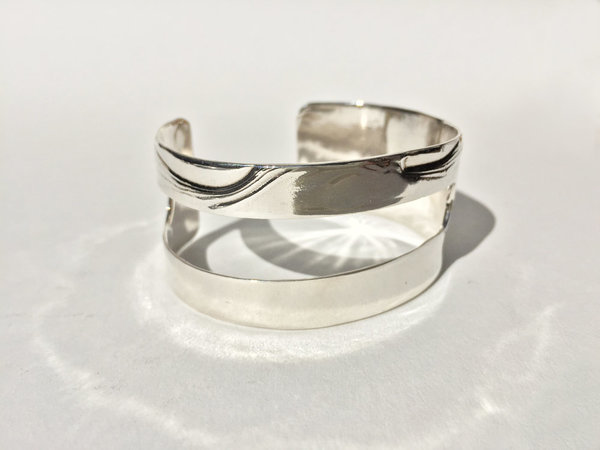 Leigh Miller Sterling Silver Cutout Bracelet