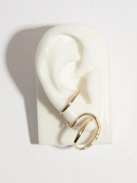 FARIS Cursive Earpiece - Bronze