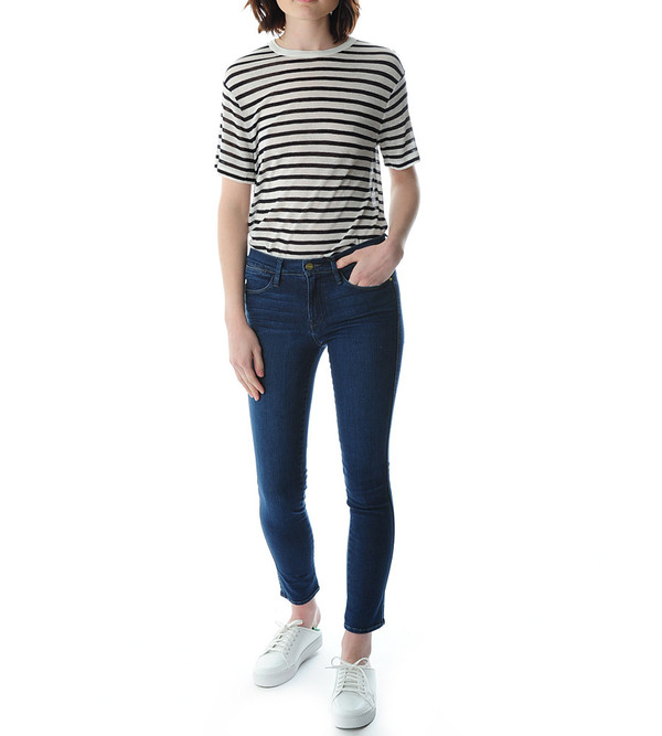 FRAME Denim Le High Skinny in Eton Avenue