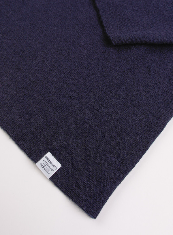 Men's Norse Projects Fjord Compact Merino - Elemental Navy