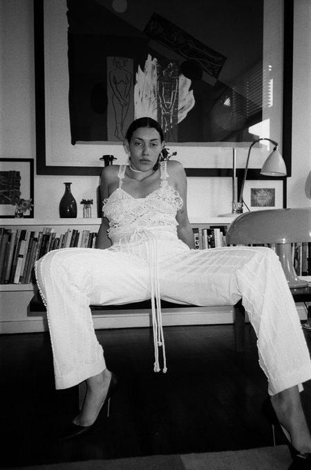 Sydney Pimbley Suit Top - White