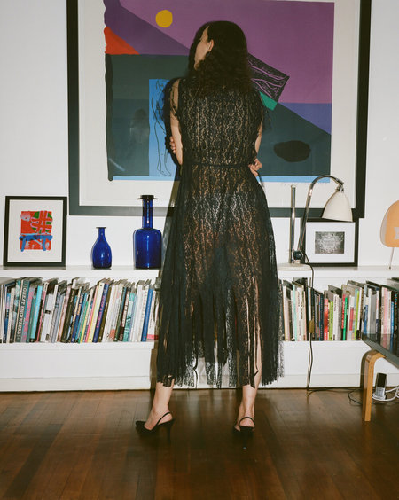 Sydney Pimbley The Wayward Dress - Black