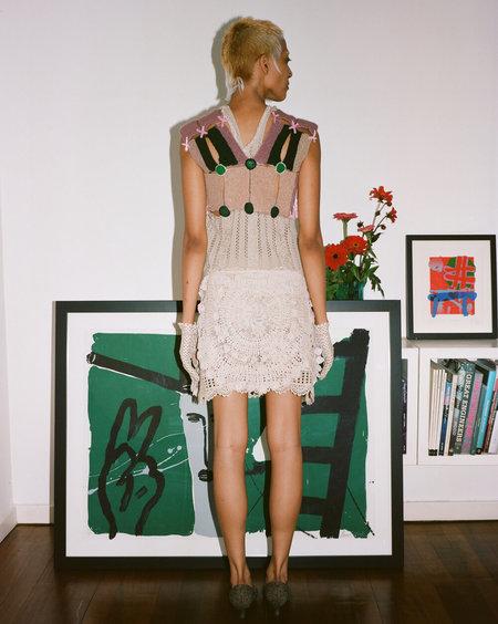 Sydney Pimbley 1960s Girl Guide Knit Top