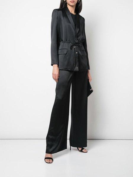 cushnie Open Back Jacket - Black