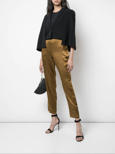 cushnie Cape Style Jacket - black