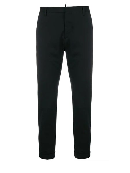 Dsquared2 Classic Wool Chinos - Black
