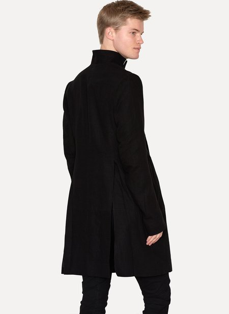 DOBSCUR ouble Breasted Coat - black