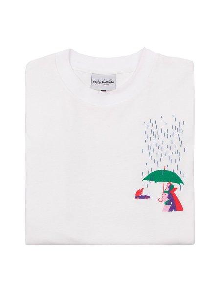 Carne Bollente Fingers In The Rain LS T-Shirt - White