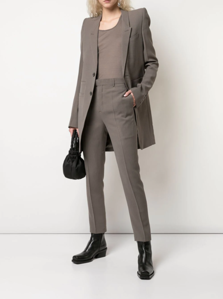 Larry Slim Tailored Trousers - Dust Grey