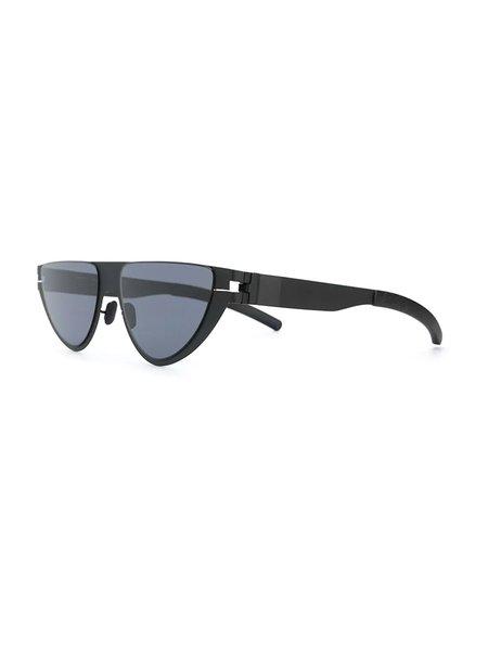 Mykita x Martine Rose Cat Eye Frame Sunglasses - Black