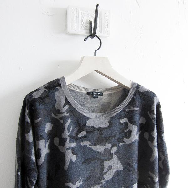 Acrobat camo sweater