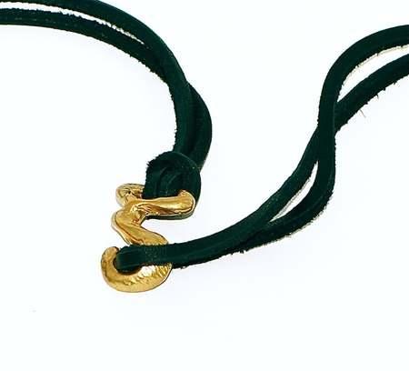 Nettie Kent Jewelry Kastraki Necklace - brass/black