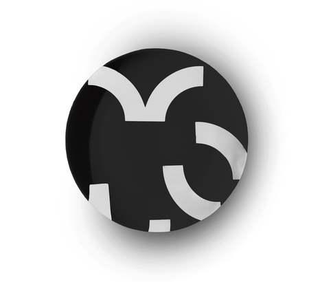 Custhom Contour Coupe plate - black