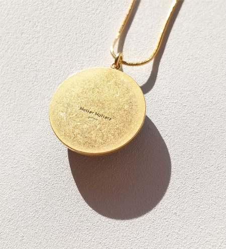 MATTER MATTERS Circle Necklace