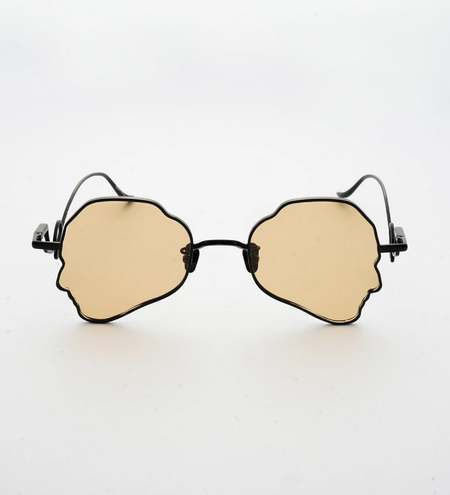 Percy Lau Deepmoss X eyewear - brown/black