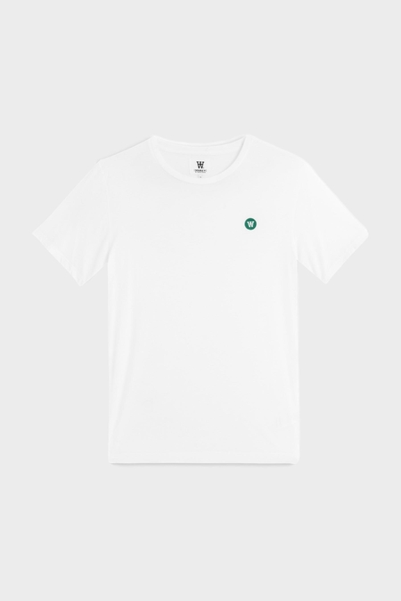 Wood Wood Ace Tee Shirt - Bright White