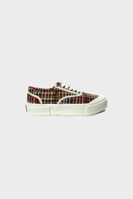 Good News Opal Check Sneakers - Brown/Blue