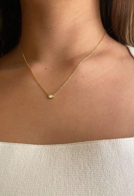 SS JEWELRY Opal Necklace