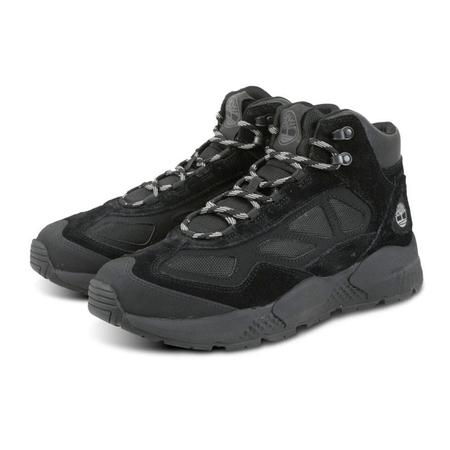 Timberland Ripcord Mid Hiking Boots - BLACK SUEDE