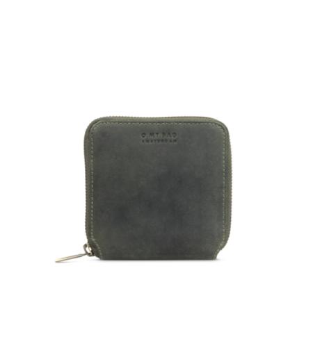 O My Bag Sonny Square Wallet - hunter green