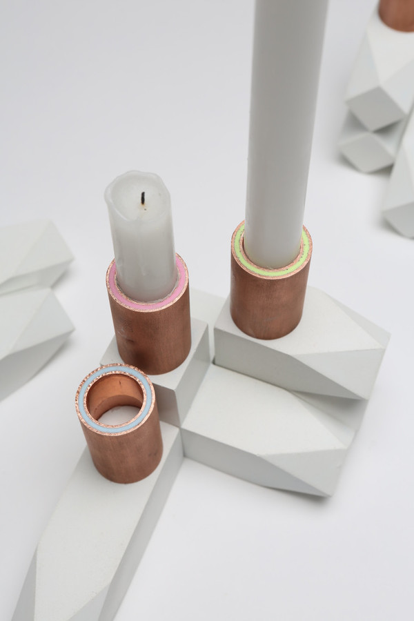 Talbot & Yoon Henry Candlestick Trio