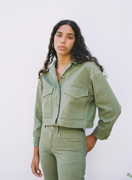 Aniela Parys Jamie Canvas Jacket - green