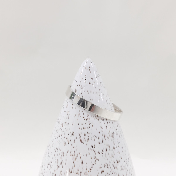 Lindsey Hampton Large White Speckled Cone