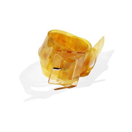Maryam Nassir Zadeh Soledad Belt - Golden Marble