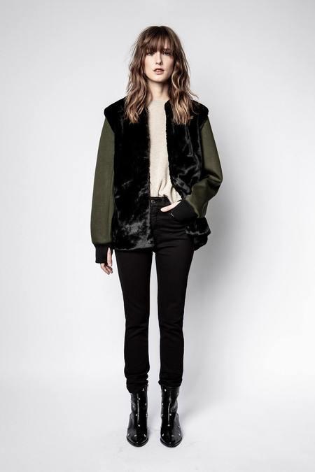 Zadig & Voltaire Keys Nylon Jacket - Olive