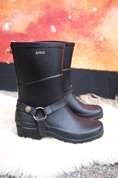 Aigle Miss Julie Boots - Black