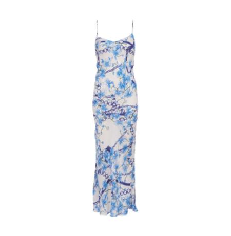 Lindsey Thornburg Orchard Chain Dress - blue