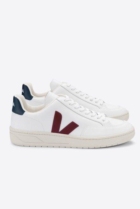 VEJA V-12 White Marsala Nautico sneakers - White