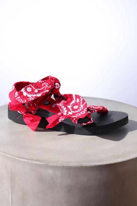 Arizona Love Trekky Chou Sandals - Red