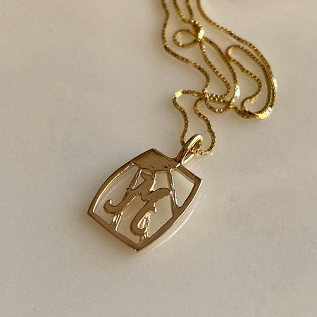 Eleventh House Jewellery Initial Necklace