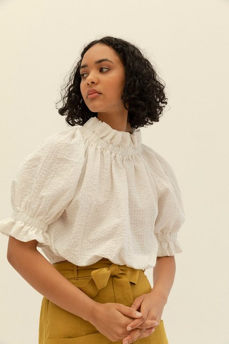 Muse the Label Alice Cotton Blouse