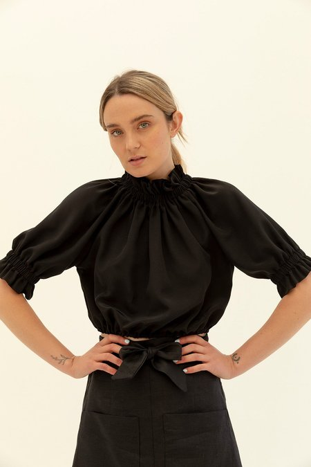 Muse the Label Alice Silk Blouse