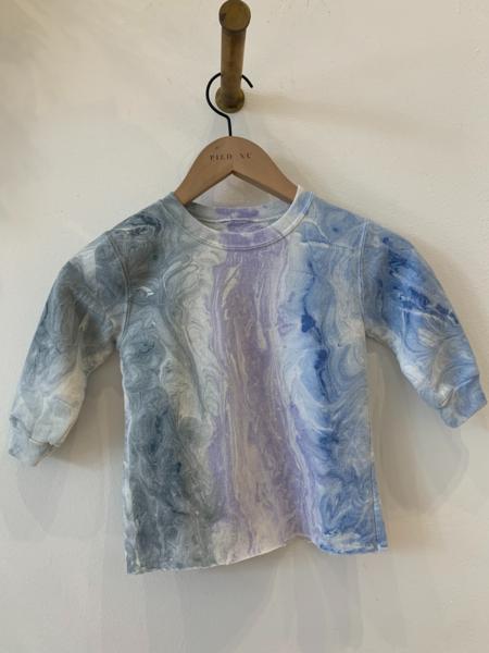 Rachel Comey Baby Fond Sweatshirt - Blue Marble