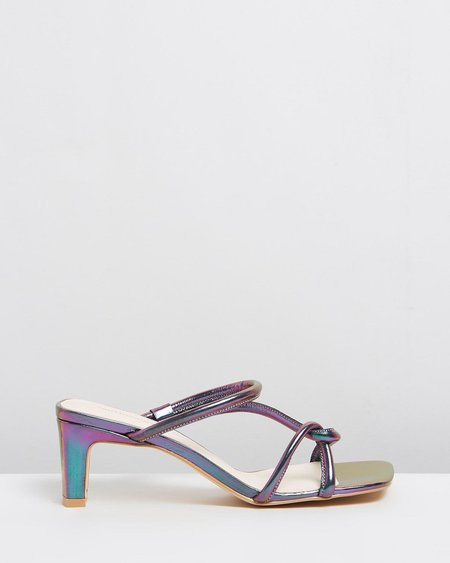 """""""INTENTIONALLY __________."""" Willow heels - Hologram"""