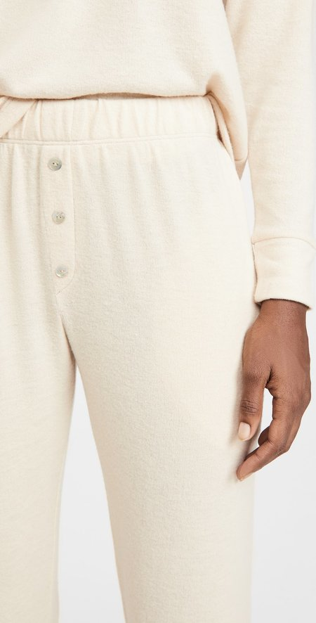 Donni. Sweater Sweatpants - Creme