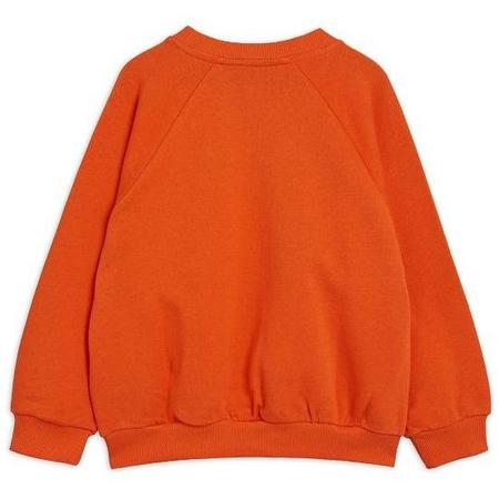 Kids Mini Rodini Wow Cow Sweatshirt - Red