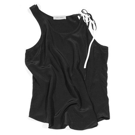 Correll Correll String Asy Top - Black/White