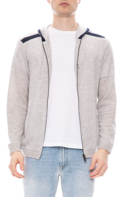 RON HERMAN x AC Cashmere Hoodie with Contrast Trims