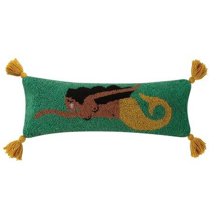 Handicraft Mar with Tassels Hook Pillow