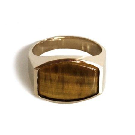 UNISEX Tarin Thomas Archie Tiger's Eye Ring
