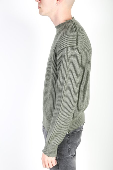 John ElliottSTRUCTURE WOOL KNIT sweater - surplus
