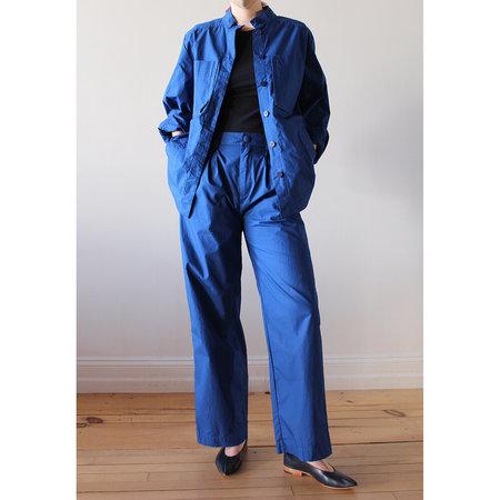 Rodebjer Tulia Pants - Workwear Blue Cotton