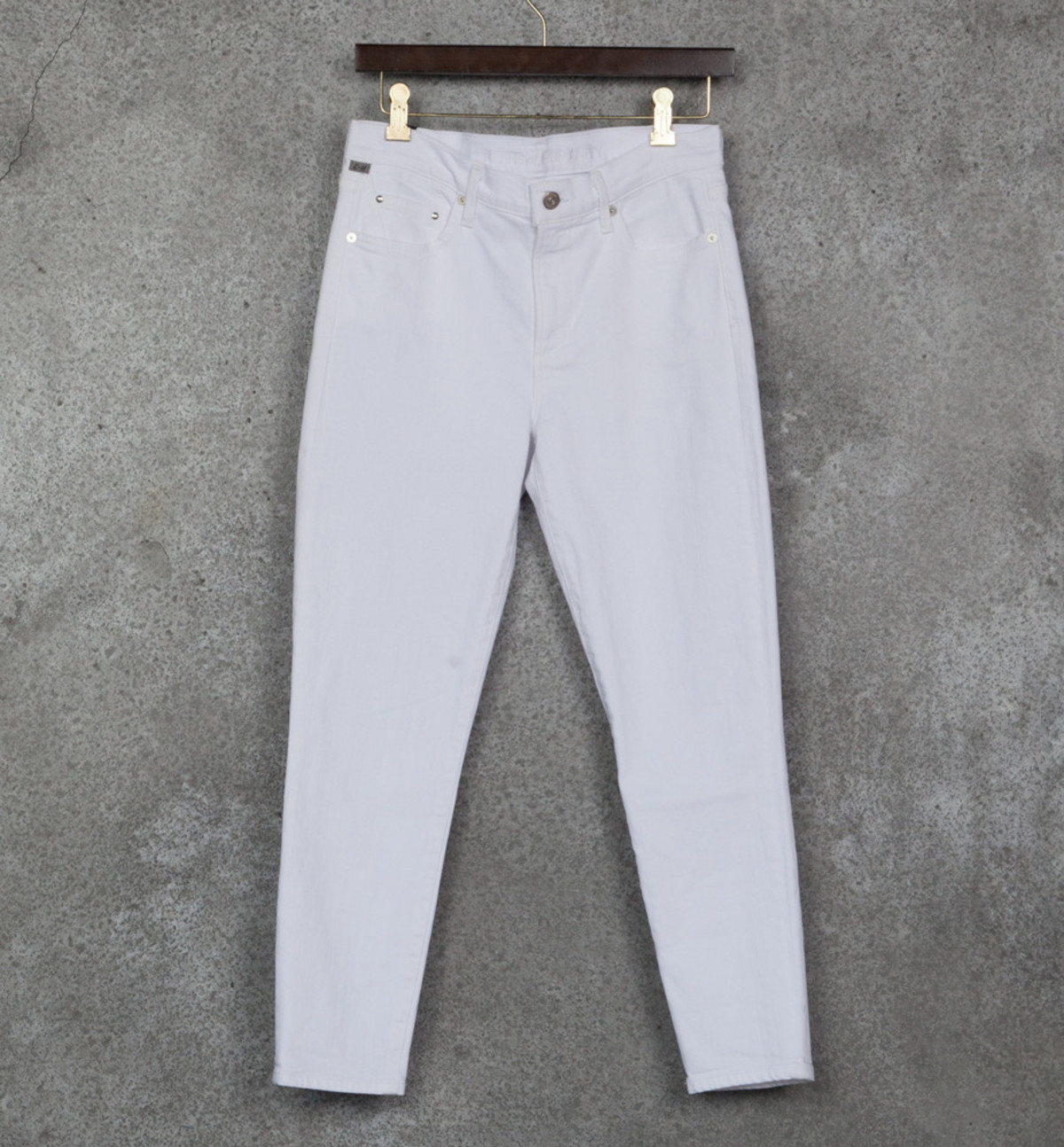 041bf621a8b Citizens of Humanity Optic White Crop Rocket High Rise Skinny ...