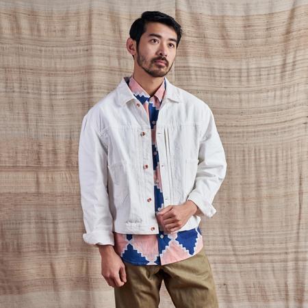 Story Mfg Sundae Undyed Organic Canvas Jacket