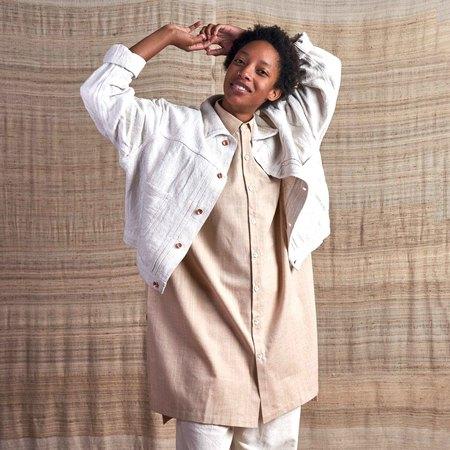 Unisex Story Mfg Sundae Undyed Organic Handloom Jacket